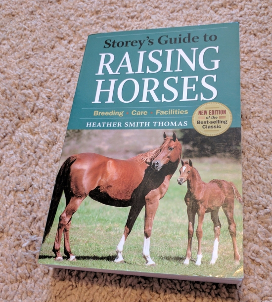 storey's guide to raising horses breeding care facilites heather smith thomas book